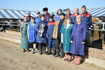 АПК «Тюринский» - 2ое место по качеству сдаваемого молока среди всех поставщиков Danon