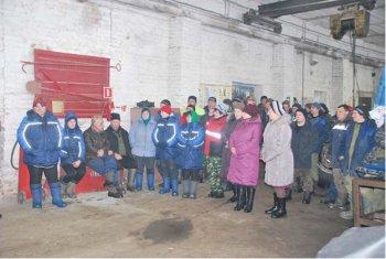 Прошла встреча  главы администрации МО Одоевского района с работниками комплекса
